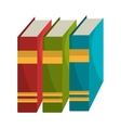 Education and books graphic design vector image