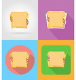 fast food flat icons 11 vector image vector image