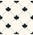 seamless geometrical pattern with maple vector image vector image