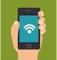 smartphone technology design vector image vector image