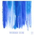 turquoise blue indigo watercolor texture vector image vector image