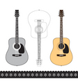 Acoustic guitar vector | Price: 1 Credit (USD $1)