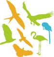 Birds Digital Clipart 2 vector image vector image