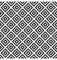 black and white squares pixel art seamless pattern vector image vector image