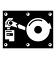 broken technology icon simple style vector image