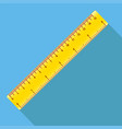 icon square shape icons of ruler in vector image