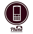 phone design vector image vector image