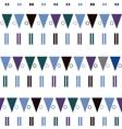 seamless pattern in modern Scandinavian vector image vector image