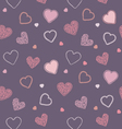 Valentine blueberry pattern vector image vector image
