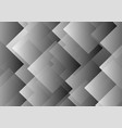 abstract gray transparent rhombus background vector image vector image