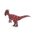dracorex dinosaur vector image vector image