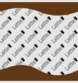 pattern latte background vector image vector image