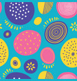 seamless abstract pattern with circles for vector image vector image