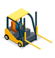 warehouse equipment cargo delivery storage service vector image vector image