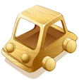 wooden toy vector image vector image