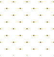 airplane rear view pattern vector image vector image
