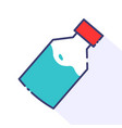 bottle medicine container vector image