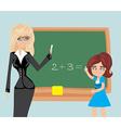 math education vector image vector image