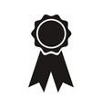 rosette winner school ribbon award vector image