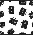 suitcase seamless pattern background business vector image