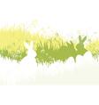 spring easter background vector image