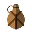 hand grenade icon image vector image