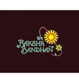 Happy Raksha Bandha vector image vector image