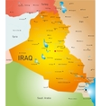 Iraq country vector image