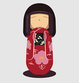 JapaneseDoll preview vector image