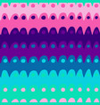 pink and violet wavy lines pattern-04 vector image vector image
