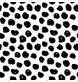 dots handdrawn seamless pattern vector image