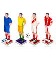 world cup soccer uniform vector image