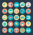 Electronics Icons 3 vector image vector image