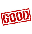 good stamp vector image vector image