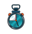 sport chronometer symbol vector image