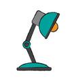 study light lamp vector image