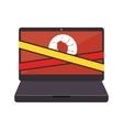 Virus infection bug icon