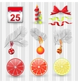 Set design new Year vector image