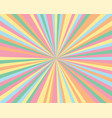 abstract background pattern color rays and vector image vector image