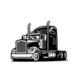 american semi truck images vector image vector image