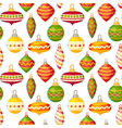 Cute christmas seamless pattern vector image vector image