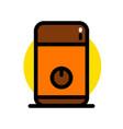 electric coffee grinder icon vector image