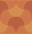 orange wavy stripes regular seamless pattern vector image
