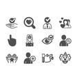 set people icons such as approved couple