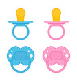 baby pacifier isolated vector image vector image