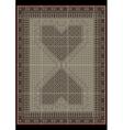 Design carpet from ethnicornamentatcenter vector image vector image