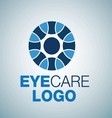 EYE CARE LOGO 9 vector image vector image