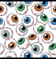 Eyeballs seamless background vector | Price: 1 Credit (USD $1)