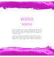 fuchsia purple lilac grunge marble watercolor vector image vector image