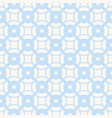 subtle geometric pattern in blue and white colors vector image